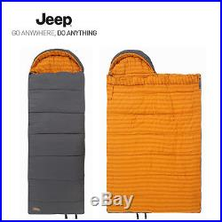 New Jeep Relax Basic 2.0 Sleeping Bag Hollow Fiber 2000g Outdoor Camping