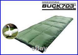 New Military Outdoor Camping Authentic goose down sleeping bag 4 Season(-10+10)