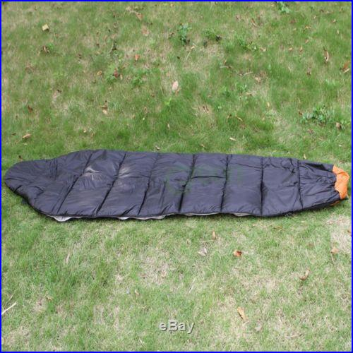 New Mummy Sleeping Bag 5F/-15C Camping Hiking With Carrying Case
