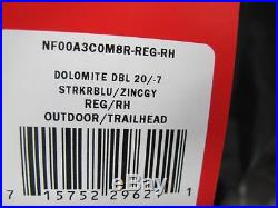 New North Face Dolomit 20/-7 Sleeping Bag A3c0m8r Reg/right Hand