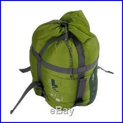 New Outdoor Camping Winter Mummy Shaped Sleeping Bag SD008 Green #C162