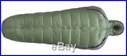 New Sierra Designs Mobile Mummy LONG 3Season 800 Fill DriDown Sleeping Bag GREEN