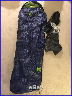 New Sierra Designs Zissou 6 degree Down Regular Length Sleeping Bag