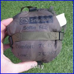 New. Snugpak Softie Elite 1 Military Army Sleeping Bag Olive Green Lightweight