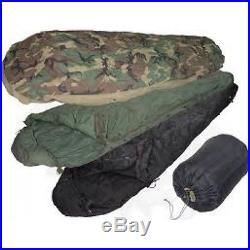 New USMC US Military 4 Piece Modular Sleeping Bag Sleep System With GORETEX Bivy