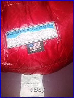 New Western Mountaineering Alpinlite 20F down sleeping bag 6