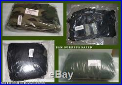 New in Bag 4 Piece MSS Modular Sleeping Bag Sleep System with Bivy US Military