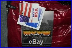 New with Tags! $425 Western Mountaineering Summerlite 32 Degree Sleeping Bag 6' RZ