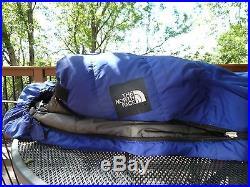 North Face 0 degree down sleeping bag