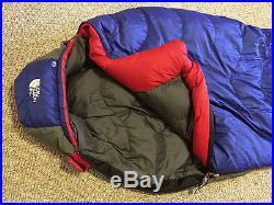 North Face Blue Kazoo down sleeping bag (long)