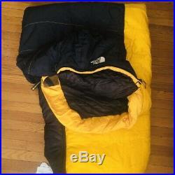 North Face Sleeping Bag Snowshoe 3D Long 90 x 33
