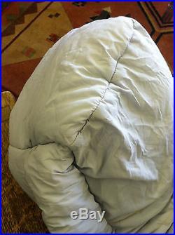 Northface sleeping mummy bag camping hiking -30F snow climbing survival
