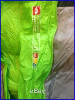 Nwt North Face Superlight 800 Goose Down Sleeping Bag 0F Reg Center Zipper $479
