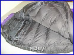 ONE The North Face Aztec Blue Foxfire Goose Down Sleeping Bag Gore-tex DryLoft