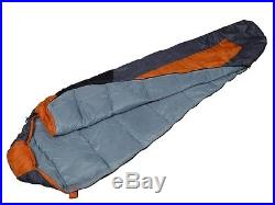 Outdoor Camping 41F/5C Mummy Shaped Sleeping Bag Hiking Traveling WithCarrying Bag
