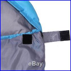 Outdoor Envelope Sleeping Bag for 3 Season Camping Hiking Travelling w Carry Bag
