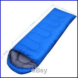 Outdoor Travel Camping Envelope Sleeping Bag Hiking Multifuntion Ultra-light