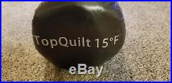 Outdoor Vitals Storm Loft / Top Quilt / Down Sleeping Bag 15 Degree