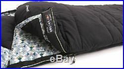 Outwell Camper Lux Double Luxury Sleeping Bag Grey 2019 3 4 Season RRP