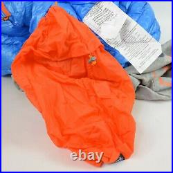 PATAGONIA $379 850 Fill Power Down 30°F SLEEPING BAG / Short BLUE