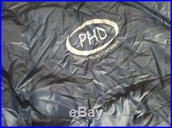 PHD Hutchinson Designs Mountain Software Ultra Light Racer Down Sleeping Bag