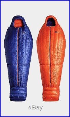 Patagonia 850 Down Sleeping Bag Long 19F -7C Harvest Moon Blue Retail $519 NWT