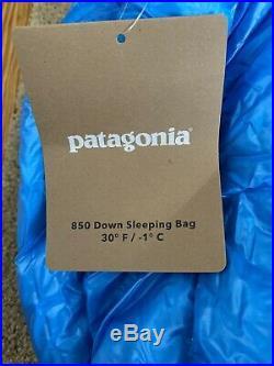 Patagonia 850-Fill Down Sleeping Bag 30 Degree Size Regular