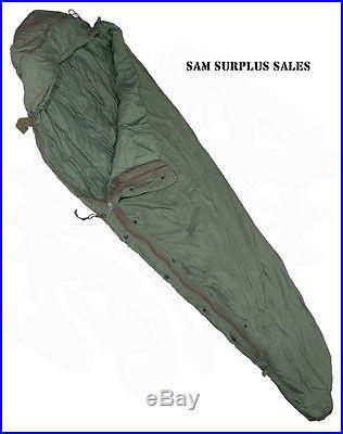 Patrol Bag Light Weight Sleeping Bag US Military MSS Sleep System