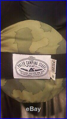 Poler Camping Stuff The Original Nap sack Camo Wearable Sleeping Bag Medium