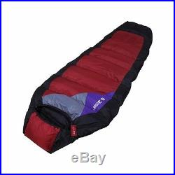 Premium Goose Down Sleeping Bag D3-DUKE With Carrying Case Brand Hiking Camping