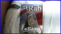 RAB MODULE 100 SLEEPING BAG(800 fill down). Hand filled in U. K! Brand new