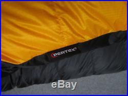 RAB Summit 500 Down Sleeping bag 750/850 goose down 17.5oz pertex endurance 15F