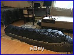 REI -20 expedition sleeping bag Regular/Left Sky #7947880014