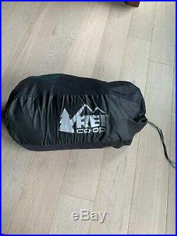REI Co-op Magma 17 Sleeping Bag Women slightly used 2lbs 4oz