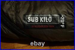 REI Co-op Sub Kilo +20 Sleeping Bag (Regular with Right Hand Zip)