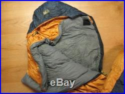 REI EXPEDITION EL+10 700ct DOWN 10? MUMMY SLEEPING BAG-Camping -86x30 Long Left