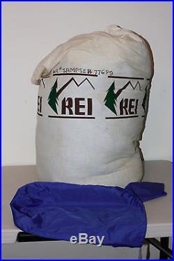 REI Goose Down Mummy Sleeping Bag