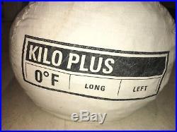 REI Kilo Plus +0 Long Left Down Mummy Sleeping Bag