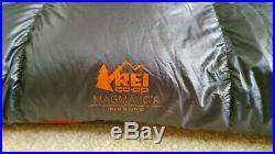 REI Magma Men's 10-degree (F) sleeping bag, size Long