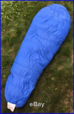 REI Mummy Sleeping Bag 2 Pounds Goose Down fill 29 X 86 Long