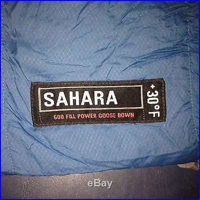 REI Sahara +30º F Mummy Sleeping Bag, 600 Fill Power Goose Down, Nylon