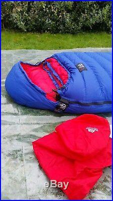 Rab Ladakh 1000 4-5 season Goose Down Sleeping Bag Superb