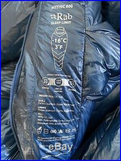 Rab Mythic 600 Down Sleeping Bag Mens