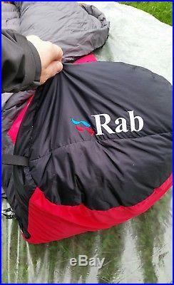 Rab Summit 700 Down Insulated Sleeping Bag Superb