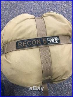 Recon 5 Sleeping Bag -20°C Military Spec Tactical COYOTE TAN