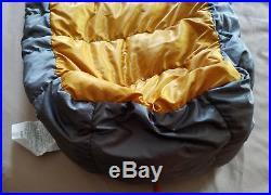 Rei Kilo Flash 750 Down 40f Sleeping Bag Long Left Euc