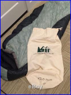 Rei Kilo Plus 0 Degree Down Sleeping Bag 750 Fill