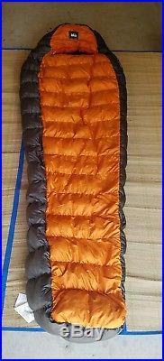 Rei down sleeping bag. Sub kilo20 750Fill goose down
