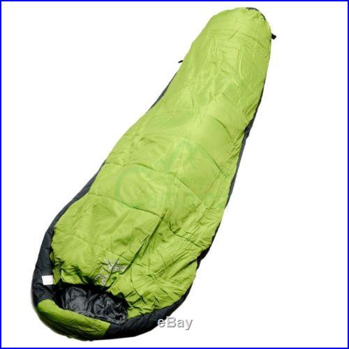 Routman Sleeping Bag 0-10Degree Camping Outdoor 240T Pongee Ripstop Travel Green