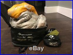 Sea To Summit Spark 1 Down Sleeping Bag 850+loft Ultradry Rds Certified Down 5°c